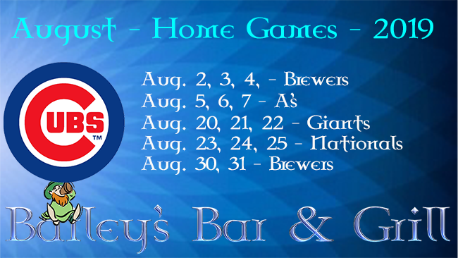 Cubs August